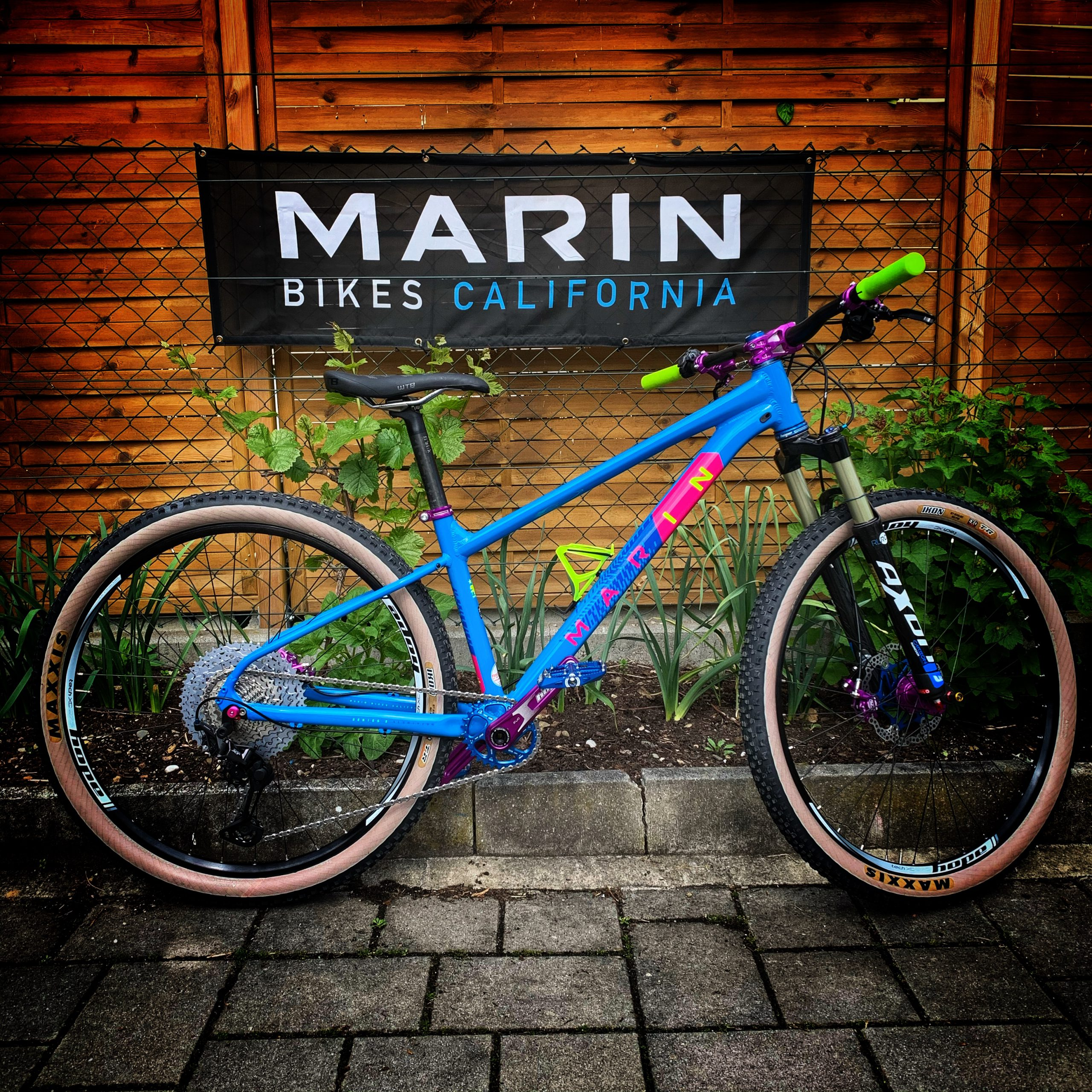 Marin Bobcat Trail #free_wheels_shop #Custombike